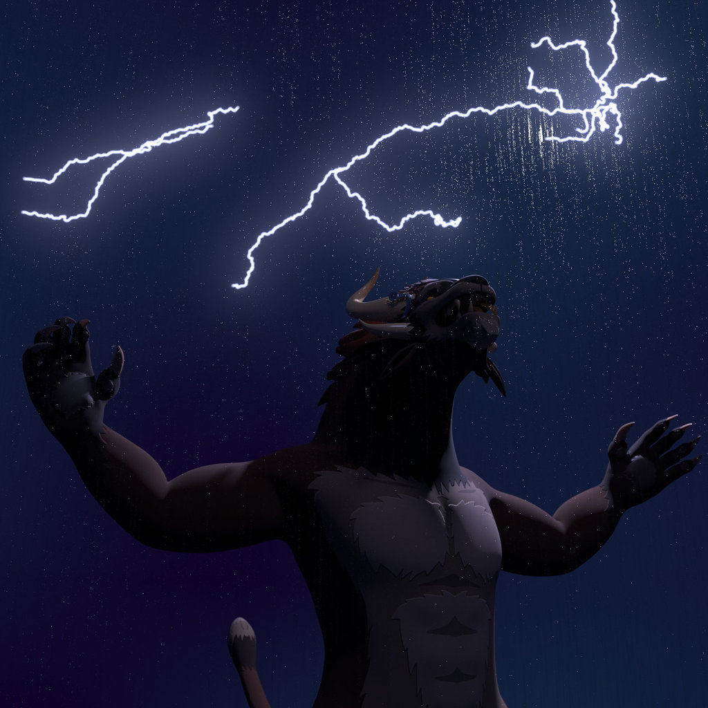 Request: Outside in a Terrible Storm