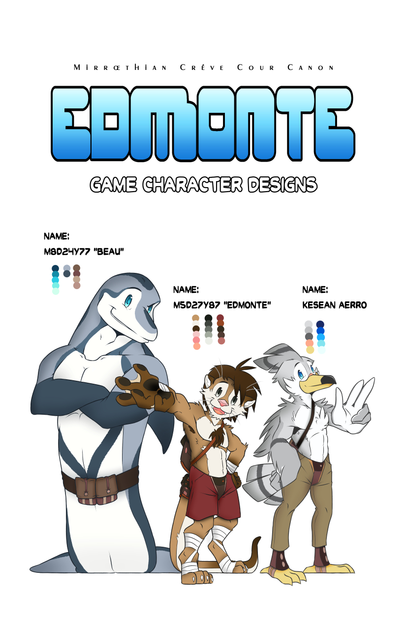 Most recent image: Game Character Designs