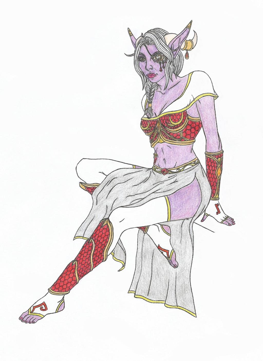 Kielastrasza - colored