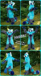 Panda made by Matrices! MAKE OFFER!