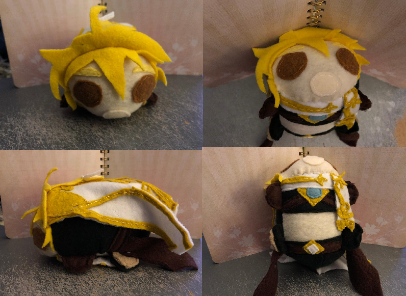 Genshin Impact Aether Smedium Stacking Plush For Sale