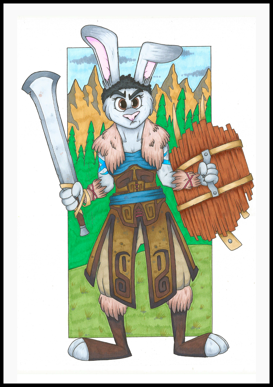 Aerona, Rabbit Barbarian