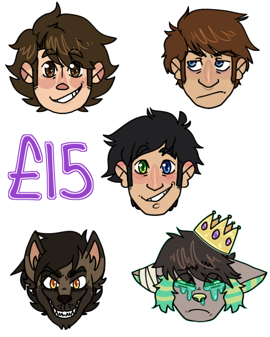 Most recent image: Sticker Style Commissions
