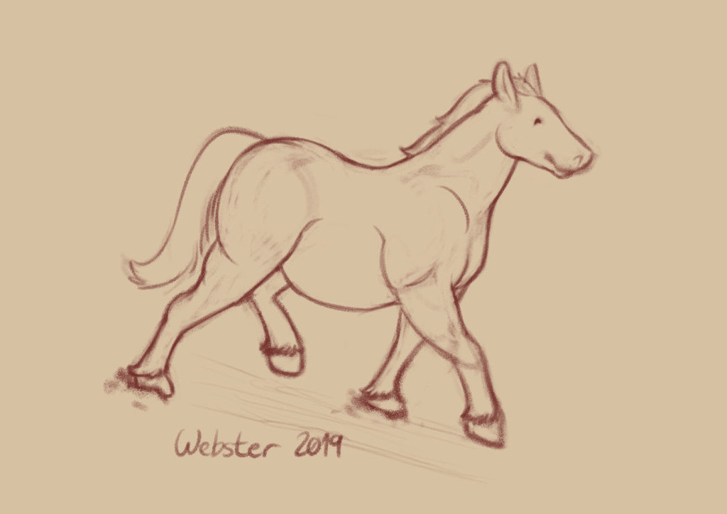 Most recent image: Chubby Horse