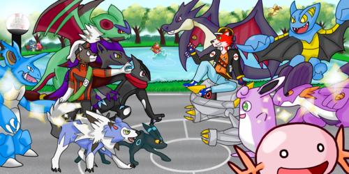 Shiny Pokemon Battle!