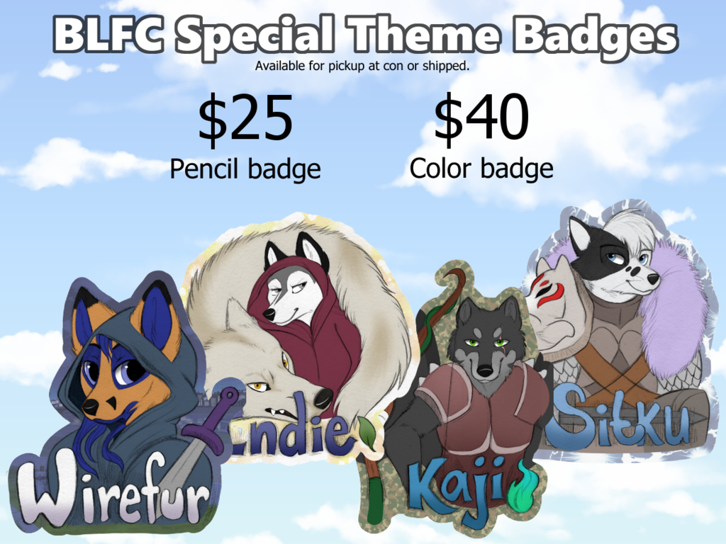 BLFC Themed Badges OPEN