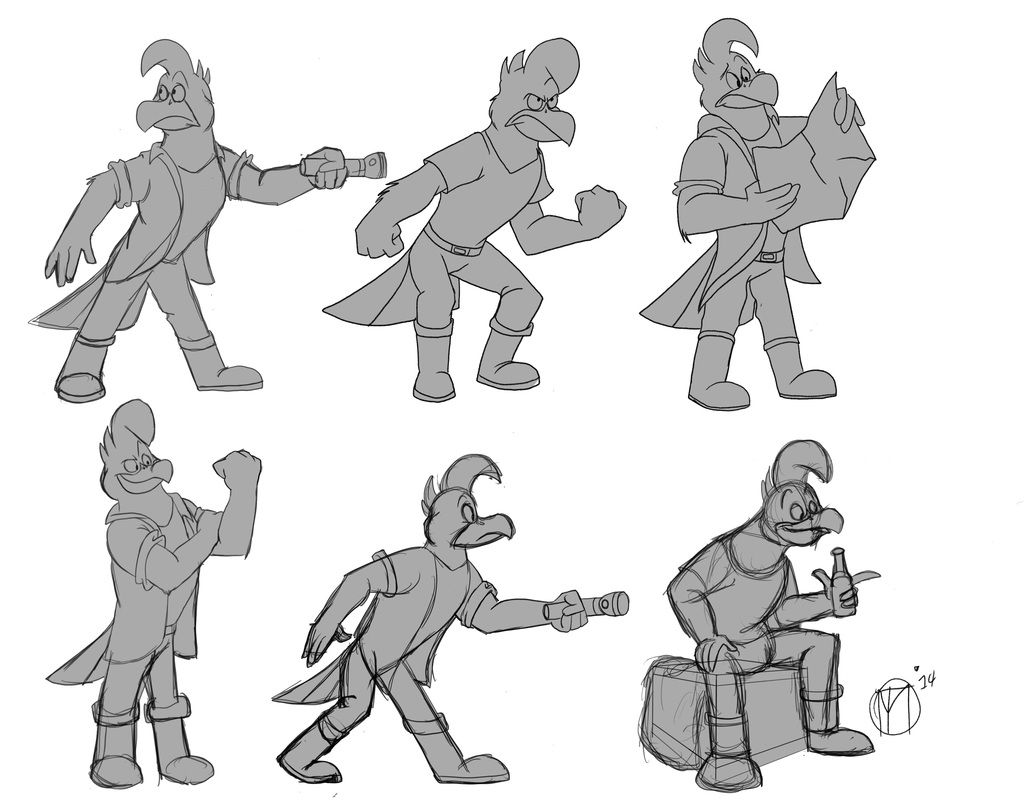 Featured image: Malco Pose Sheet