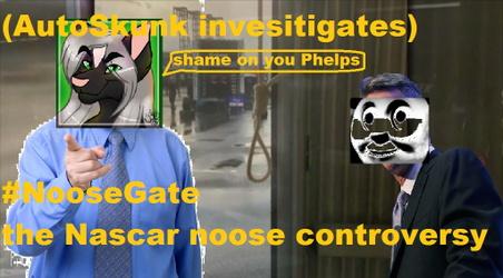 the Nascar noose controversy (AutoSkunk investigates)