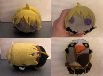 RWBY Yang Xiao Long Stacking Plush Commission