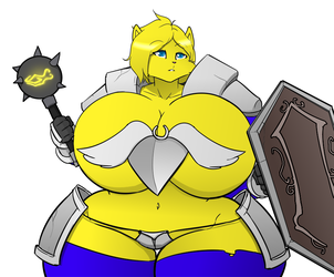 Beasts & Breasts - Kristy the Paladin