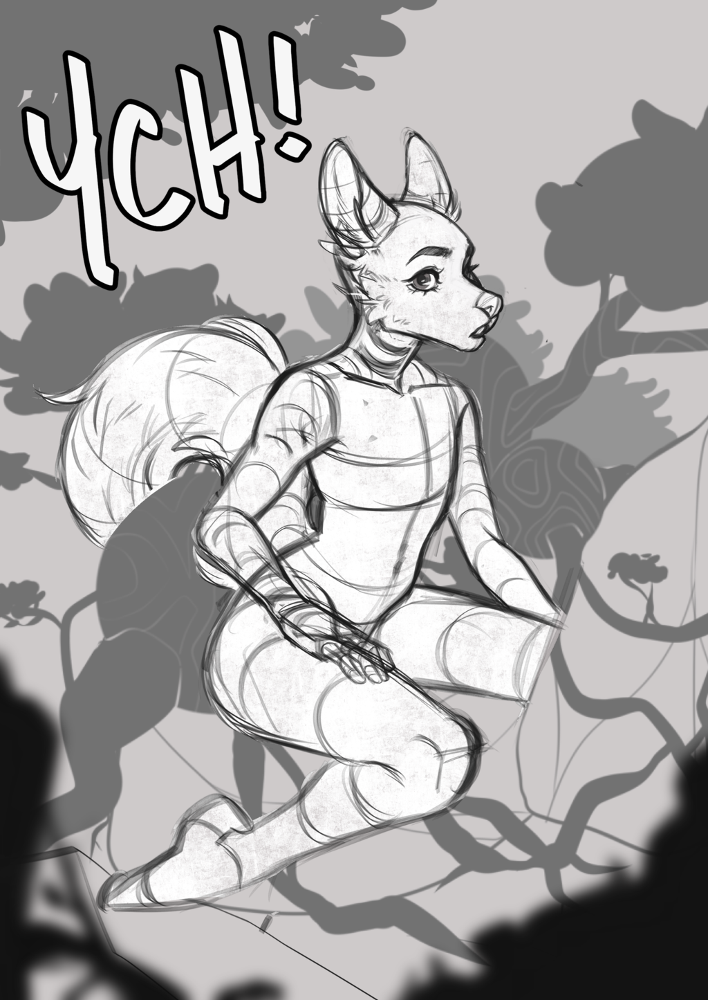 [YCH] Basking in the Wild