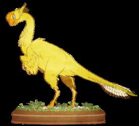 Hobo Chook, the Gigantoraptor