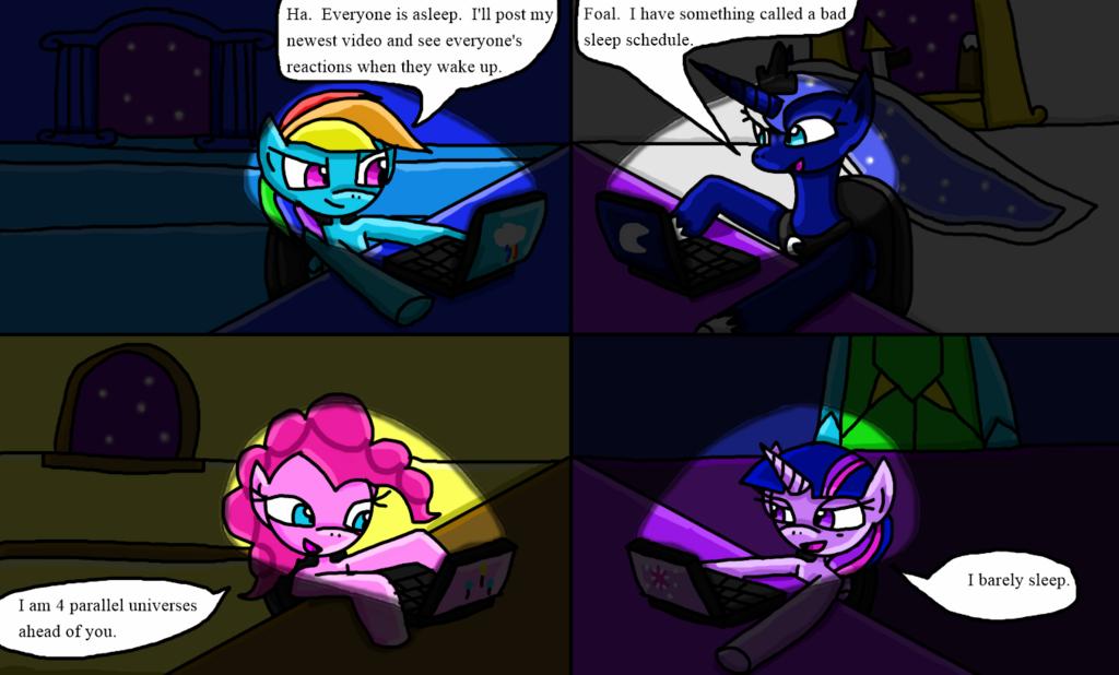 Late Night Pony Posting