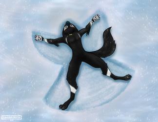 DockterChris Snow-Angel