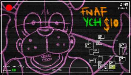 IN TIME FOR HALLOWEEN [FNAF YCH]