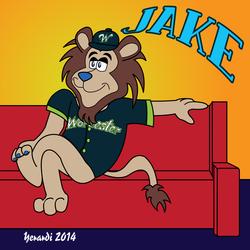 Jake the Lion Fan Art