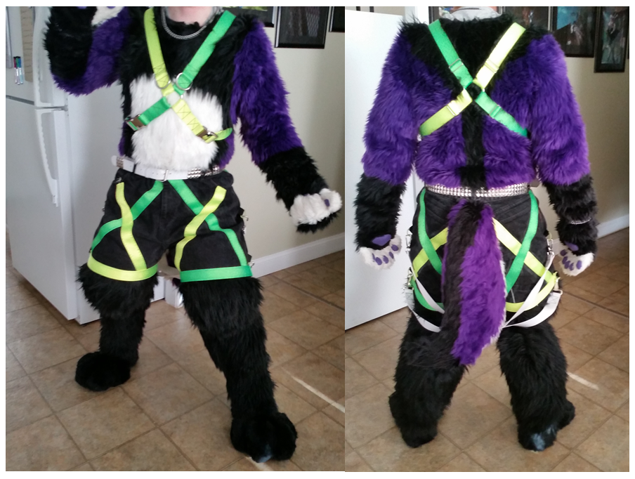 Torben's New Outfit Complete!