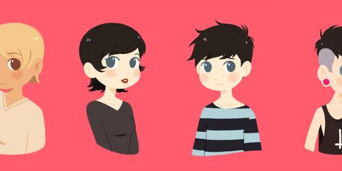 Lineless Portraits