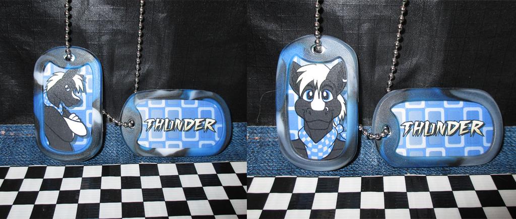 Conbadges May 2015 - Thunder