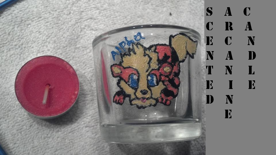 Scented Arcanine Candle -trade-