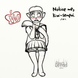 Anime Bullshit Sempai (doodle kinda)