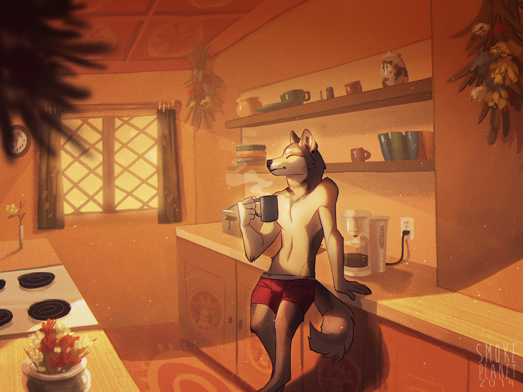 [com] morning coffee