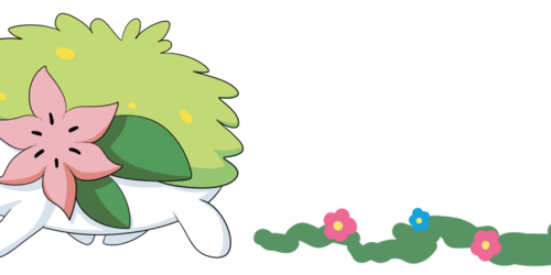 Shaymin's Flower Footsteps