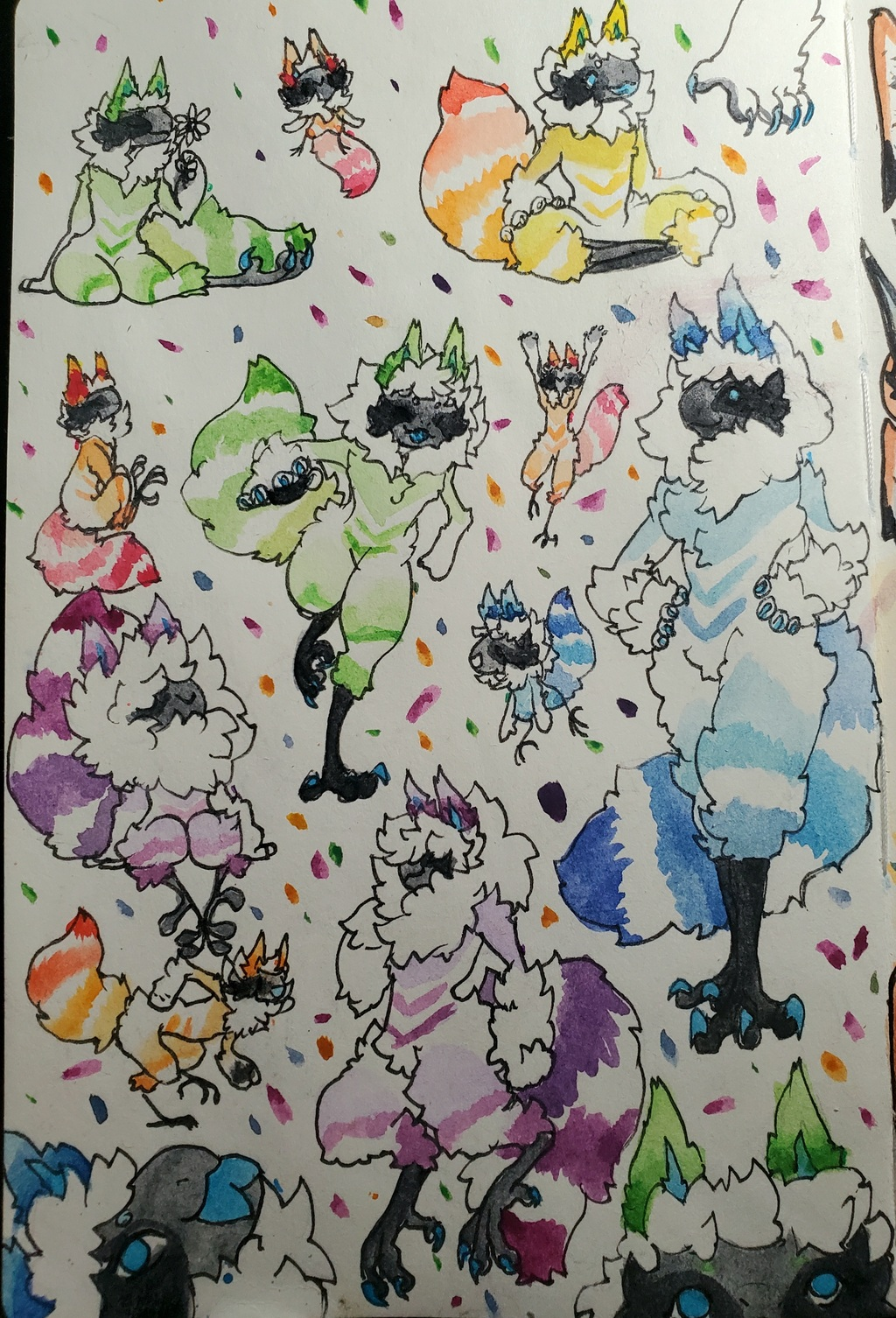 Doodle Page: Sprig