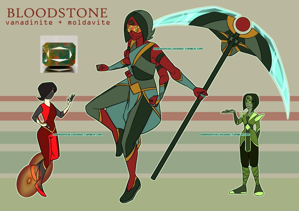 Bloodstone (Gemsona Fusion)