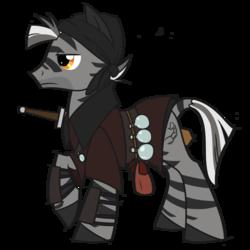 Zebra Swordmaster