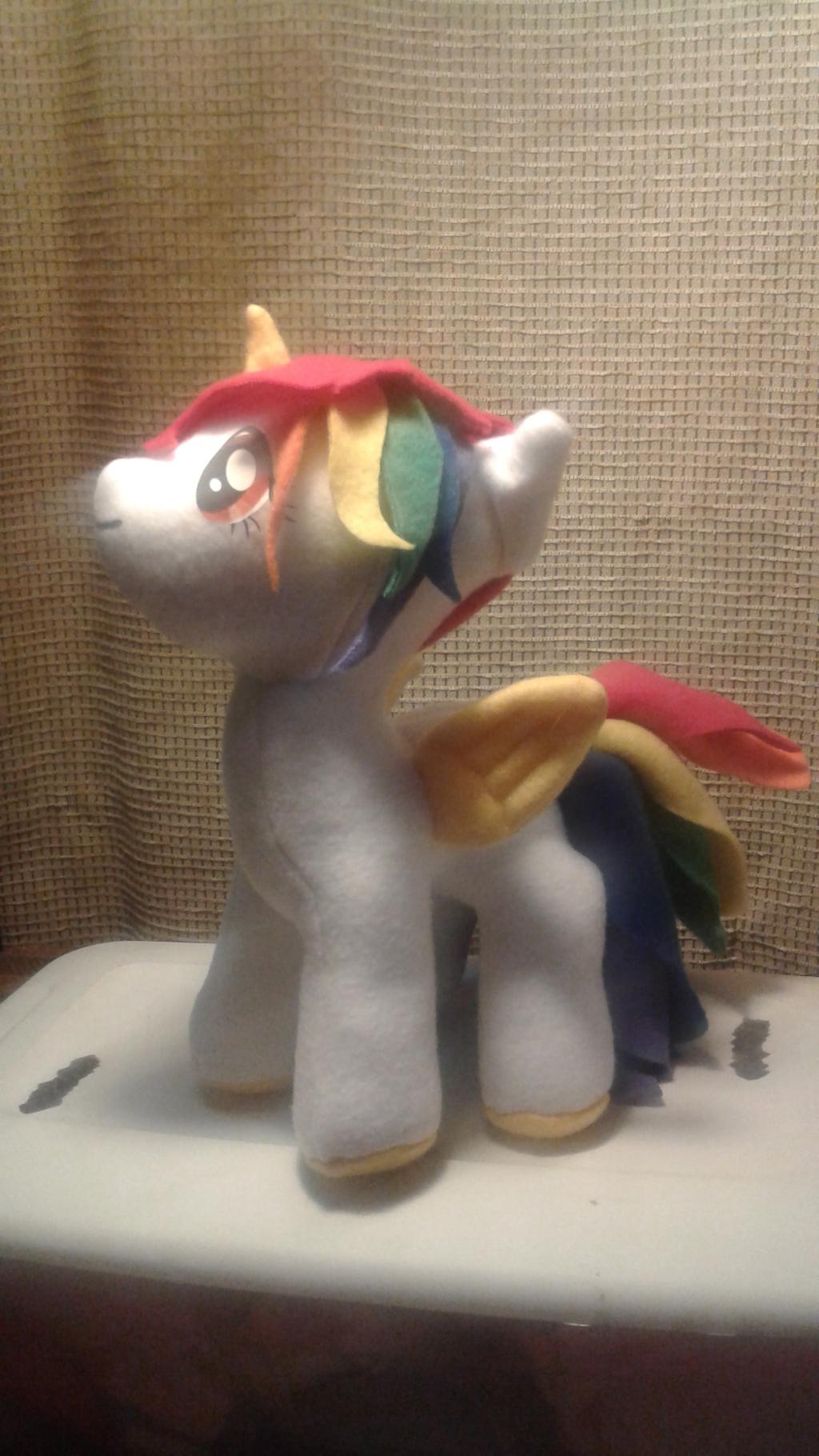 A Rainbow Alicorn