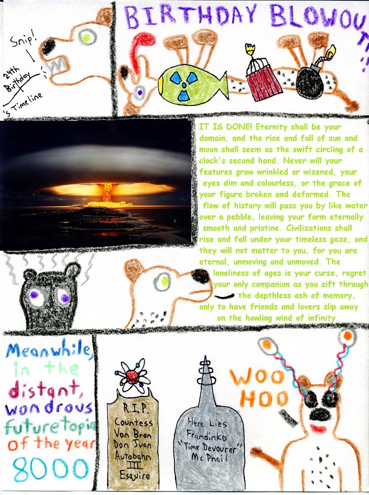 The 3 Hyenas vs. Brickowski's Birthday! Part 2