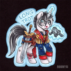 Long Trot Badge