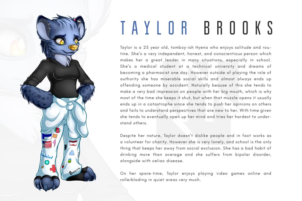 OC   Taylor Brooks (Speed Draw in description)
