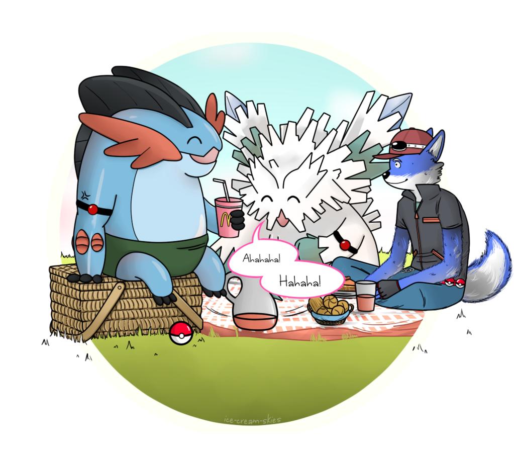 Pokemon Picnic By Ice Cream Skies