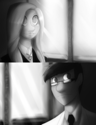 Paperman Inspired Doodle - Ellie and Chase