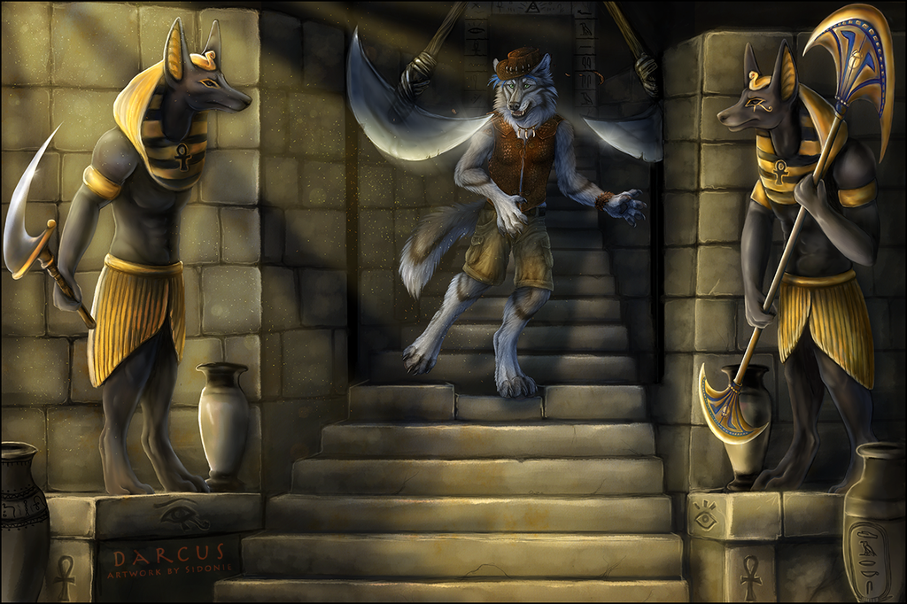 Most recent image: The dangerous adventure in the Pyramid!