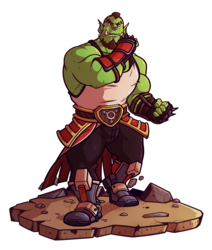 A Wild Orc Appears!