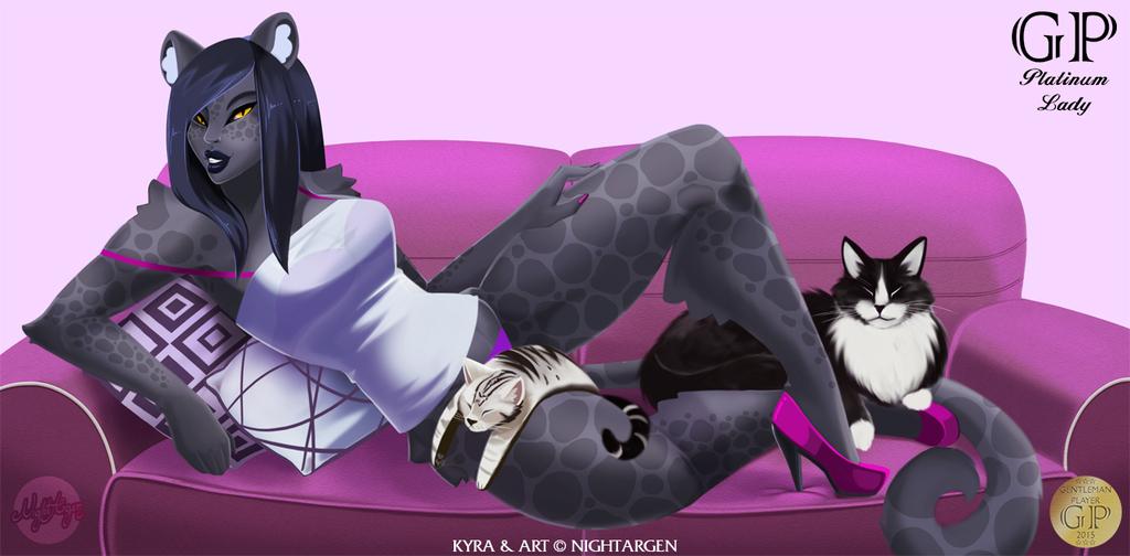 [C] Platinum Lady 48: Kyra