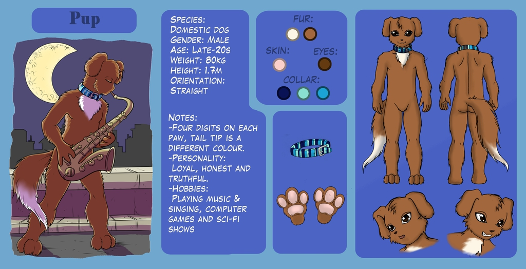 Most recent image: Pup Reference