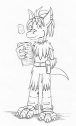 Sketch - Gorm Demeter