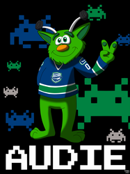 AHL MAX Series Number 06 of 30: Audie - Utica Comets