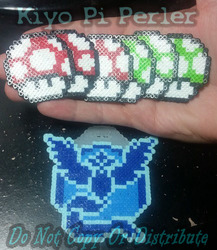 Mystic Badge V2 (Original Pattern) and Mario Charms