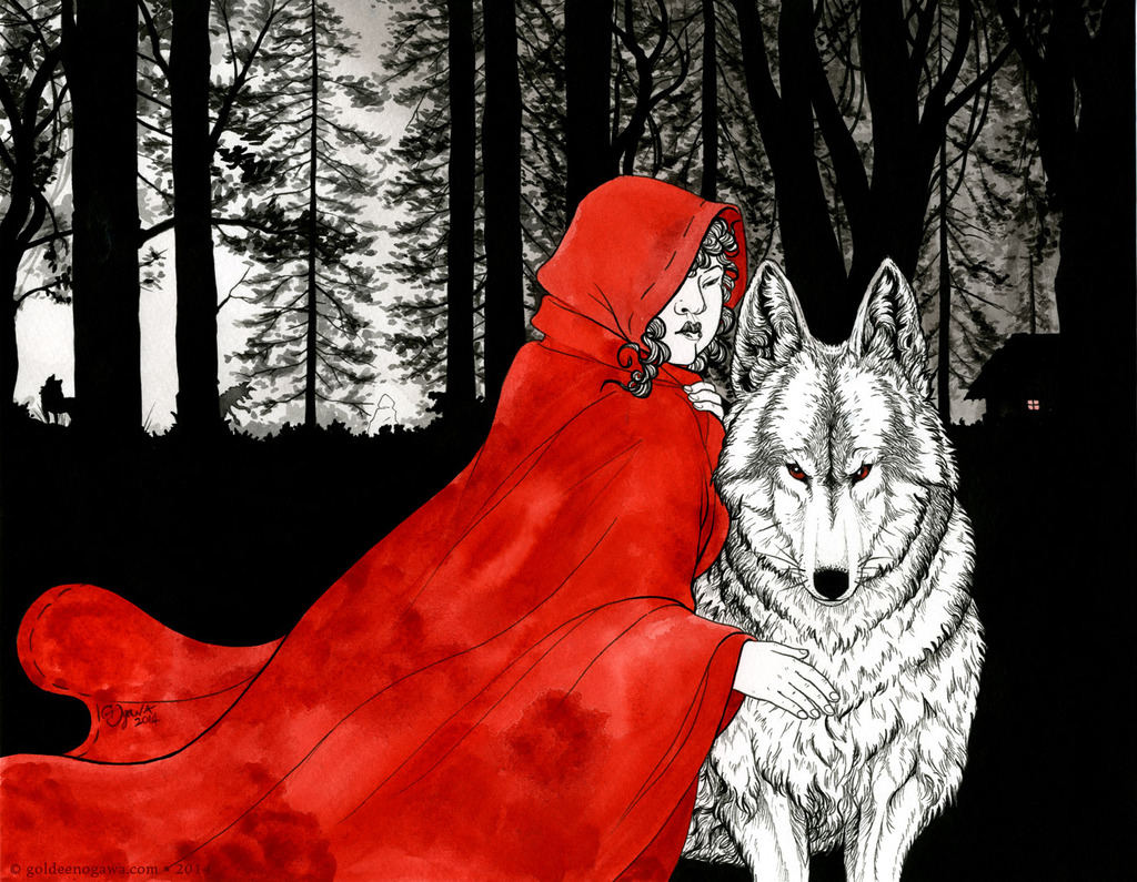 Riding and the Wolf