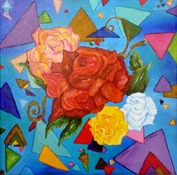 Abstract Roses ...