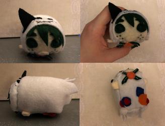 My Hero Academia Ghost Izuku Midoriya Stacking Plush made for myself