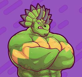 SuperSaurus Bust