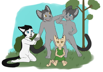 A Family Photo - Flats Commission for MiwAuturu