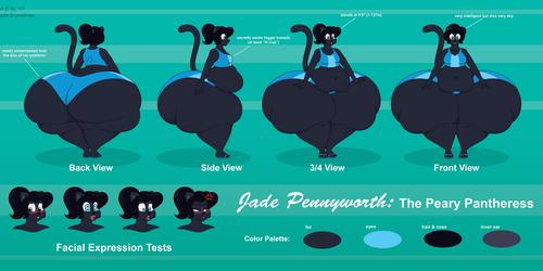 Jade Pennyworth Reference Sheet