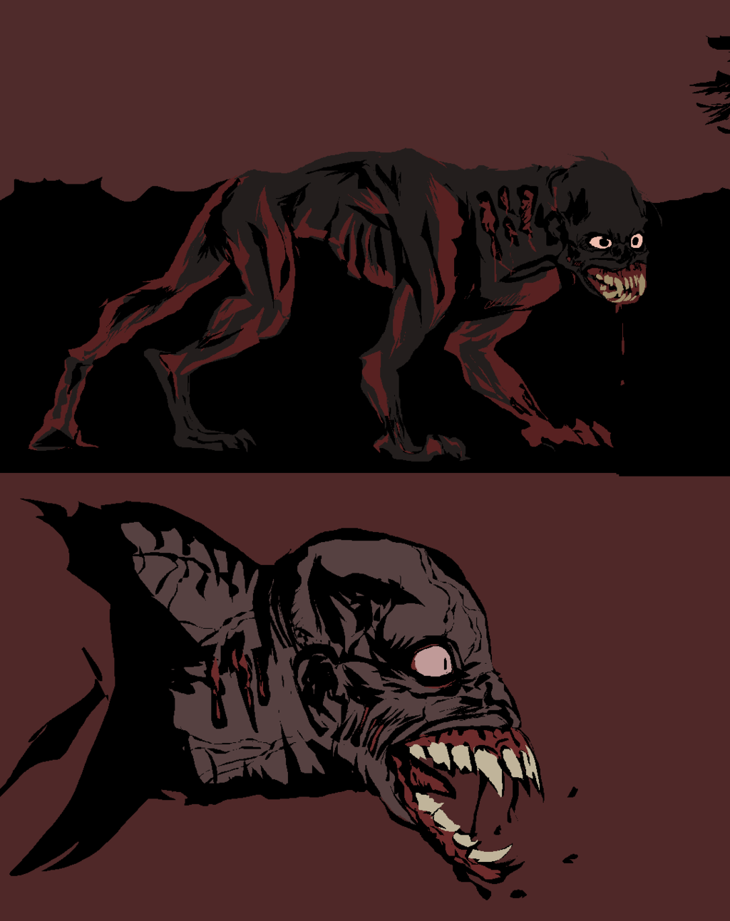 Featured image: ugly werewolf design from 2011